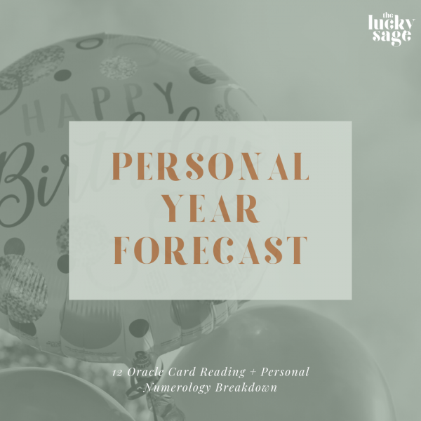 Personal Year Forecast
